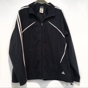Adidas | Oversized Vintage Full Zip Jacket XL Mens